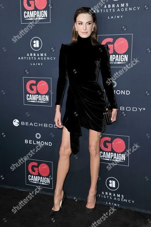 Elizabeth Chambers attend the 13th Annual Go Gala at NeueHouse Hollywood, in Los Angeles