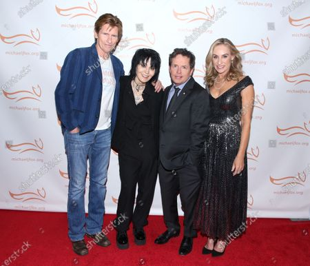 Stock Picture of Denis Leary, Joan Jett, Michael J Fox and Tracy Pollan
