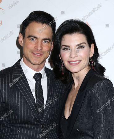 Stock Image of Julianna Margulies and husband Keith Lieberthal
