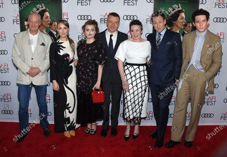 Charles Dance, Erin Doherty,, Helena Bonham Carter Peter Morgan, Olivia Colman and Josh O'Connor