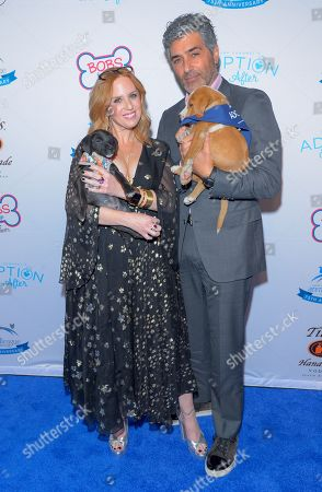 Stock Photo of Jenny Hutt and Keith Hutt attend the North Shore Animal League, America's Annual Get Your Rescue On Gala at Pier Sixty New York City