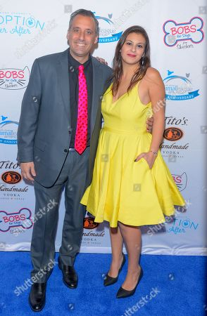 Joeseph Gatto and Bessy Gatto attend the North Shore Animal League, America's Annual Get Your Rescue On Gala at Pier Sixty New York City