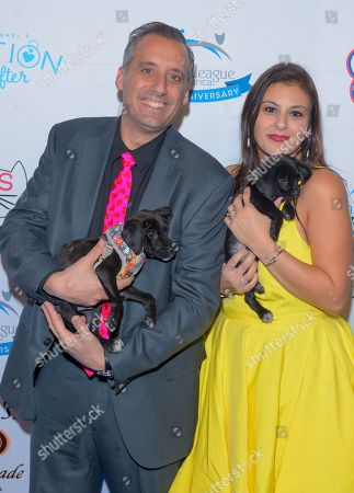 Stock Image of Joeseph Gatto and Bessy Gatto attend the North Shore Animal League, America's Annual Get Your Rescue On Gala at Pier Sixty New York City