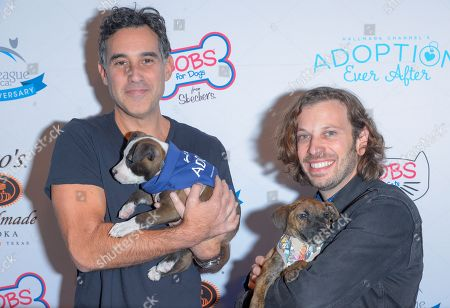 Joshua Radin and Danny Black attend the North Shore Animal League, America's Annual Get Your Rescue On Gala at Pier Sixty New York City