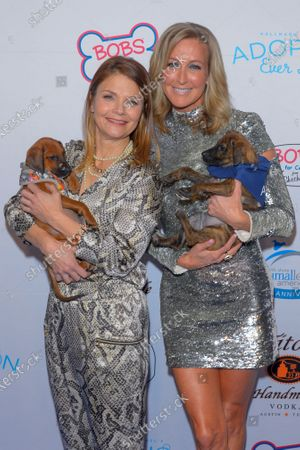 Kathryn Erbe and Lara Spencer attend the North Shore Animal League, America's Annual Get Your Rescue On Gala at Pier Sixty New York City
