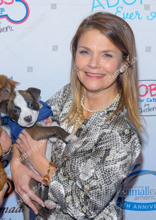 Kathryn Erbe attends the North Shore Animal League, America's Annual Get Your Rescue On Gala at Pier Sixty New York City