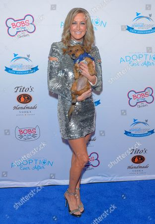 Lara Spencer attends the North Shore Animal League, America's Annual Get Your Rescue On Gala at Pier Sixty New York City