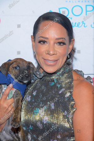 Selenis Leyva attends the North Shore Animal League, America's Annual Get Your Rescue On Gala at Pier Sixty New York City