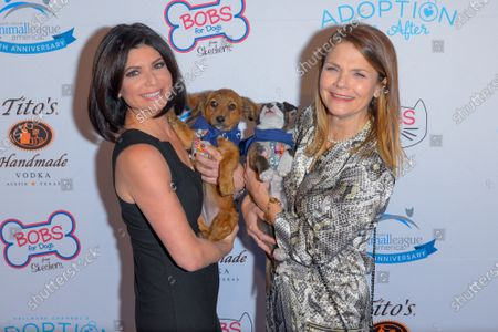 Stock Photo of Tamsen Fadal and Kathryn Erbe attend the North Shore Animal League, America's Annual Get Your Rescue On Gala at Pier Sixty New York City