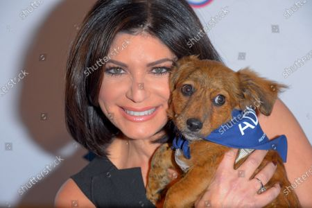 Tamsen Fadal attends the North Shore Animal League, America's Annual Get Your Rescue On Gala at Pier Sixty New York City