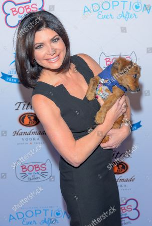 Stock Image of Tamsen Fadal attends the North Shore Animal League, America's Annual Get Your Rescue On Gala at Pier Sixty New York City