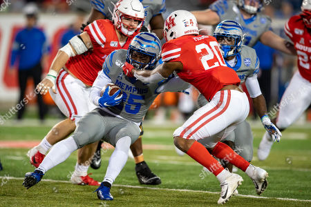 Editorial picture of NCAA Football Memphis Tigers at Houston Cougars, Houston, USA - 10 Nov 2019