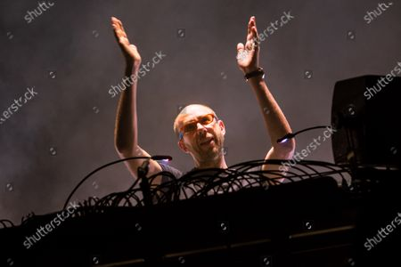Stock Image of Tom Rowlands of The Chemical Brothers