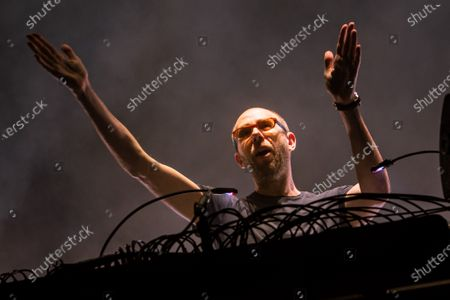 Stock Picture of Tom Rowlands of The Chemical Brothers
