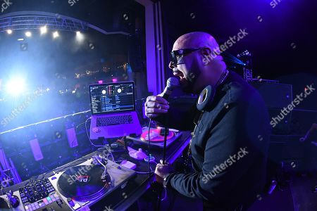 Stock Image of DJ Laz
