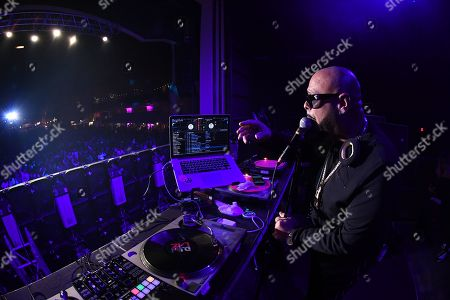 Stock Photo of DJ Laz