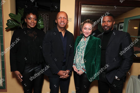 Karan Kendrick, Bryan Stevenson - Writer/Executive Producer, Blair Rich - President of Worldwide Marketing for Warner Bros. Pictures Group and Warner Bros. Home Entertainment and Jamie Foxx