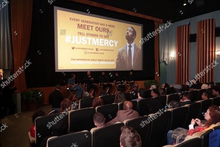 Editorial image of Warner Bros. JUST MERCY special tastemaker film  screening, Los Angeles, USA - 16 November 2019