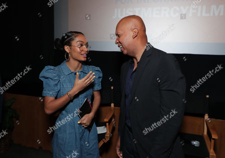 Editorial photo of Warner Bros. JUST MERCY special tastemaker film  screening, Los Angeles, USA - 16 November 2019