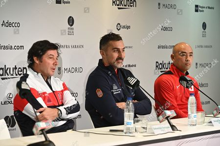 Editorial picture of Training session for Davis Cup finals, Madrid, Spain - 17 Nov 2019