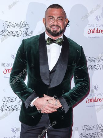 Stock Picture of Robin Windsor attends the Caudwell Children Float Like A Butterfly Ball at the Grosvenor House in London.