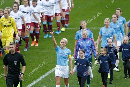 Editorial image of Manchester City Women v West Ham United Women, FA Women's Super League - 17 Nov 2019