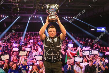 Editorial image of 17/11/2019., Grand Slam of Darts - 17 Nov 2019