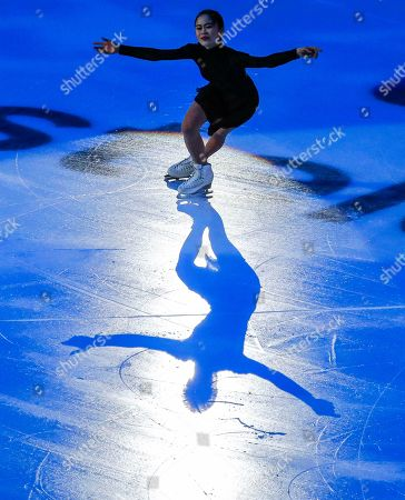 Satoko Miyahara of Japan performs during the Gala exhibition of the 2019 Rostelecom Cup of Russia ISU Grand Prix of Figure Skating in Moscow, Russia, 17 November 2019.