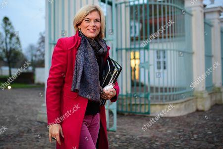 Editorial picture of German Cabinet meets in Meseberg, Gransee, Germany - 17 Nov 2019
