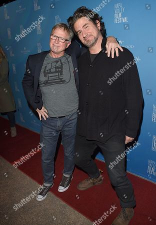 Allan Hunter and Matt Nathanson attend the 'I Want My MTV' screening at the Napa Valley Film Festival held at the Lincoln Theatre, Yountville, CA @NapaFilmFest #NVFF19
