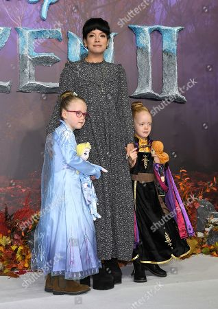 Editorial picture of 'Frozen 2' film premiere, London, UK - 17 Nov 2019