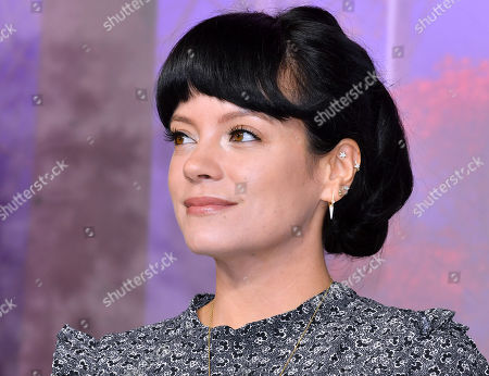 Stock Image of Lily Allen