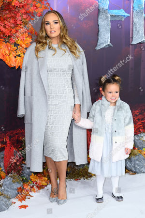 Stock Image of Tamara Ecclestone and Sophia Ecclestone-Rutland