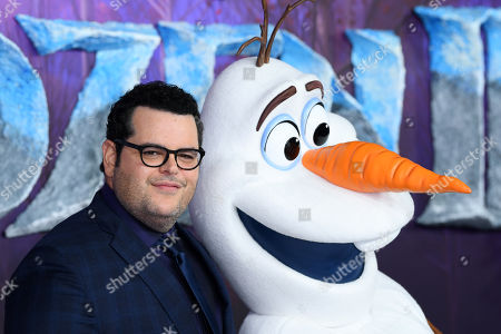 Josh Gad and Olaf