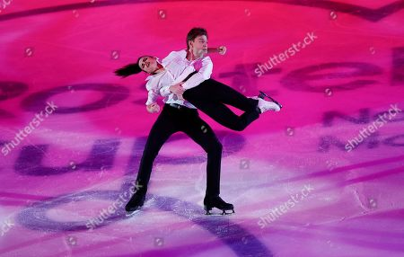 Editorial picture of Russia Figure Skating, Moscow, Russian Federation - 17 Nov 2019