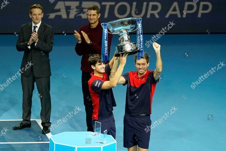 Editorial photo of ATP World Tour Finals in London, United Kindgom - 17 Nov 2019