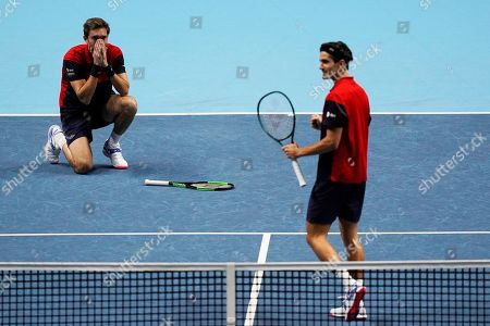 Editorial picture of ATP World Tour Finals in London, United Kindgom - 17 Nov 2019