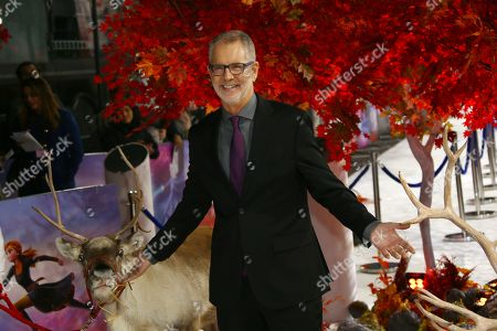 Chris Buck poses for photographers upon arrival at the European premiere of 'Frozen 2', in central London