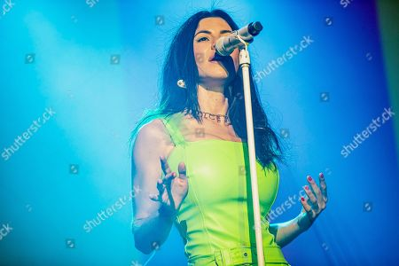 Editorial picture of Marina in concert at Fabrique, Milan, Italy - 14 Nov 2019