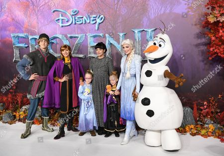 Editorial image of Frozen II film premiere in London, United Kingdom - 17 Nov 2019