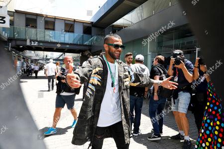 Motorsports: FIA Formula One World Championship 2019, Grand Prix of Brazil,   Dani Alves