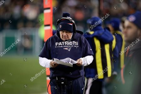 Editorial picture of Patriots Eagles Football, Philadelphia, USA - 17 Nov 2019