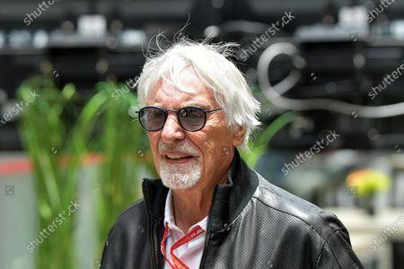 Stock Picture of Bernie Ecclestone