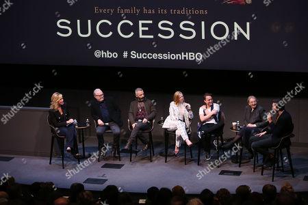 Brooke Baldwin, Brian Cox, Jeremy Strong, Sarah Snook, Kieran Culkin, J. Smith Cameron, Nicholas Braun