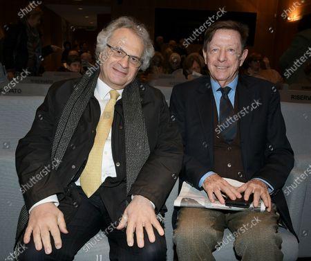 Amin Maalouf and Mario Andreose