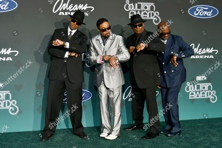 Stock Photo of Terry Lewis, Morris Day, Jimmy Jam and Jerome Benton