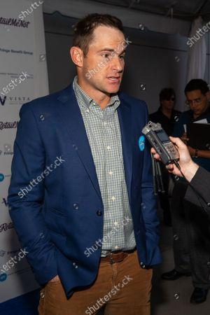 Andy Roddick attends the red carpet for the annual Andy Roddick Foundation Gala at ACL Live