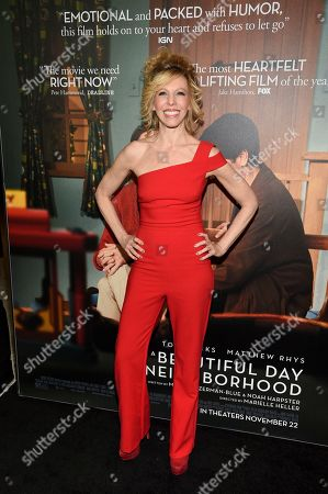 """Maddie Corman attends a special screening of """"A Beautiful Day In The Neighborhood"""" at the Henry R. Luce Auditorium, in New York"""
