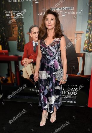 """Wendy Makkena attends a special screening of """"A Beautiful Day In The Neighborhood"""" at the Henry R. Luce Auditorium, in New York"""