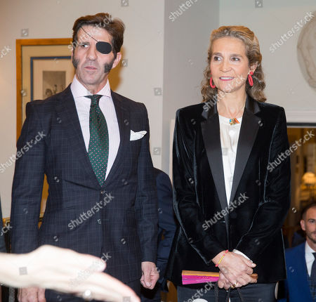 Juan Jose Padilla, Princess Elena and Enrique Ponce